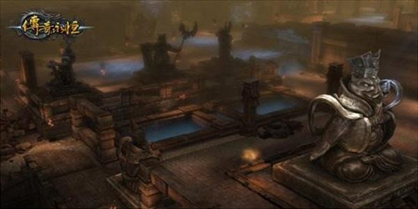 带魔王岭地图的传奇游戏